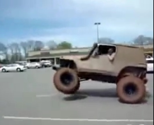Video: Why You Shouldn't Blow Donuts in Your Lifted Jeep
