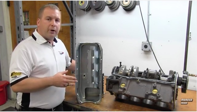 Tech Video: Moroso Explains The Design Of Their Core Stroker Oil Pans For Small Block Chevys – Less Bolts!