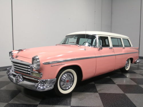 Poly In Pink: Are You Man Enough To Cruise This 1956 Chrysler Windsor Wagon?