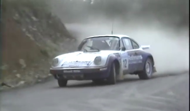 Historical Footage: The Rothmans Porsche 911 Rally Car Doing What It Did Best