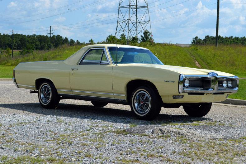 World's Only 1968 Pontiac LeMans Safari Pickup Heading To Auction