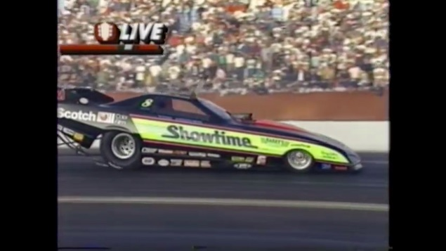 Relive The Crazy, Cool, and Awesome Finals Of NHRA Phoenix '92