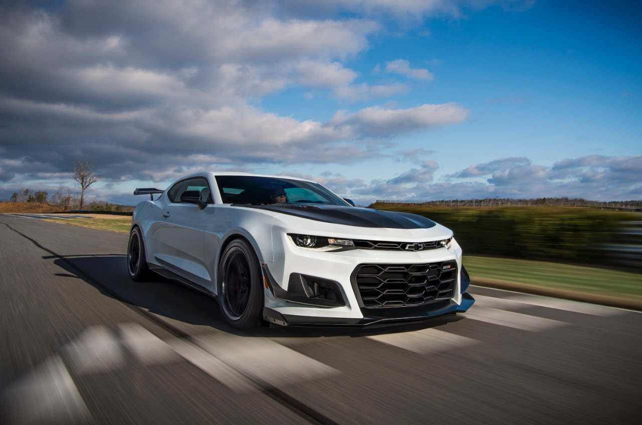 Weapons Grade: Meet The 2017 Chevrolet Camaro ZL1 With The 1LE Performance Package