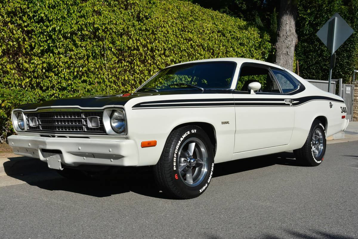 This 340 Duster Is As Clean As A Pin And Hot Rod Bad Assery For Only $11,000!