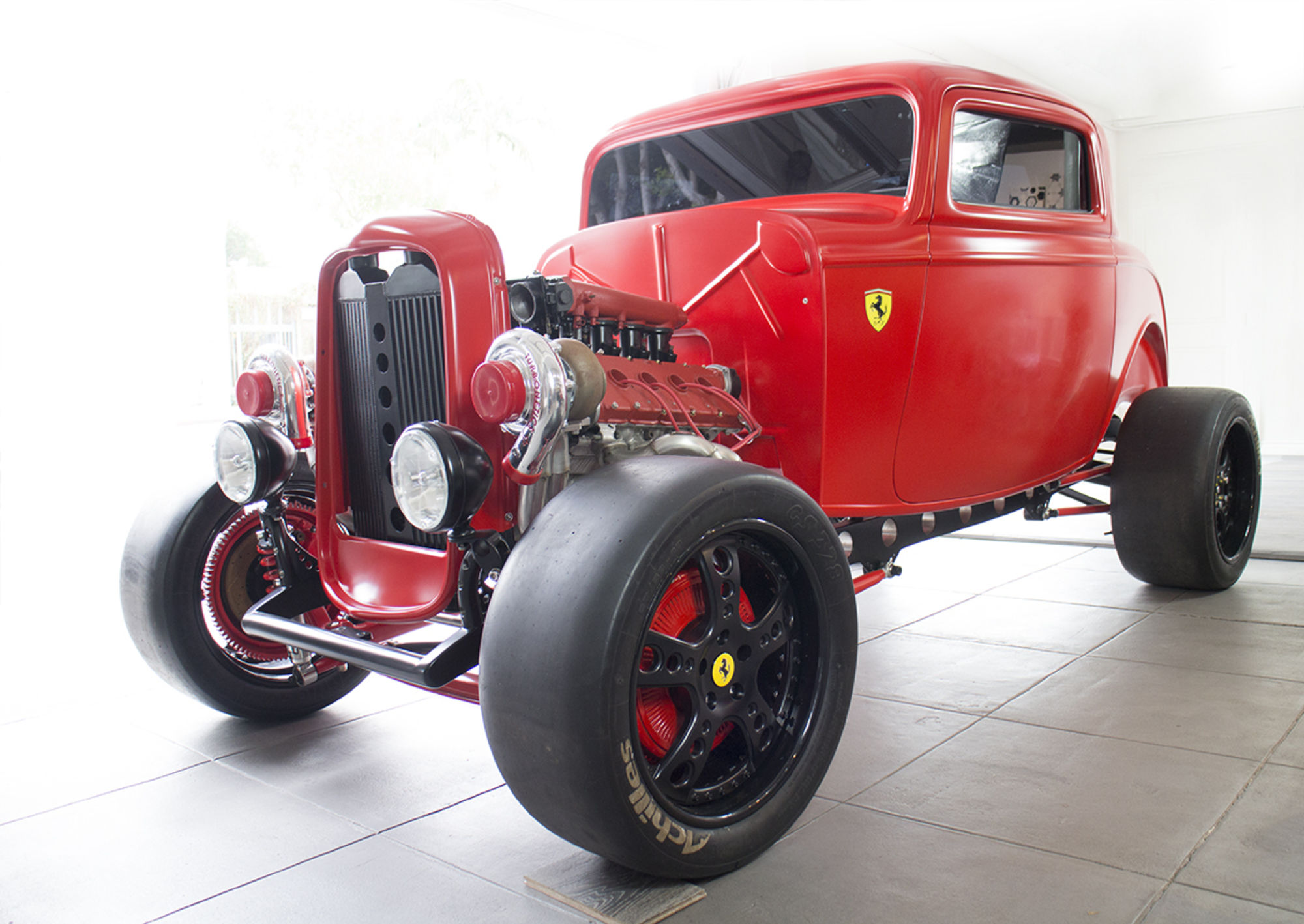 $250,000 For An Unfinished Ferrari Powered Fiberglass 1932 Ford? I Don't Think So. Check This Out.