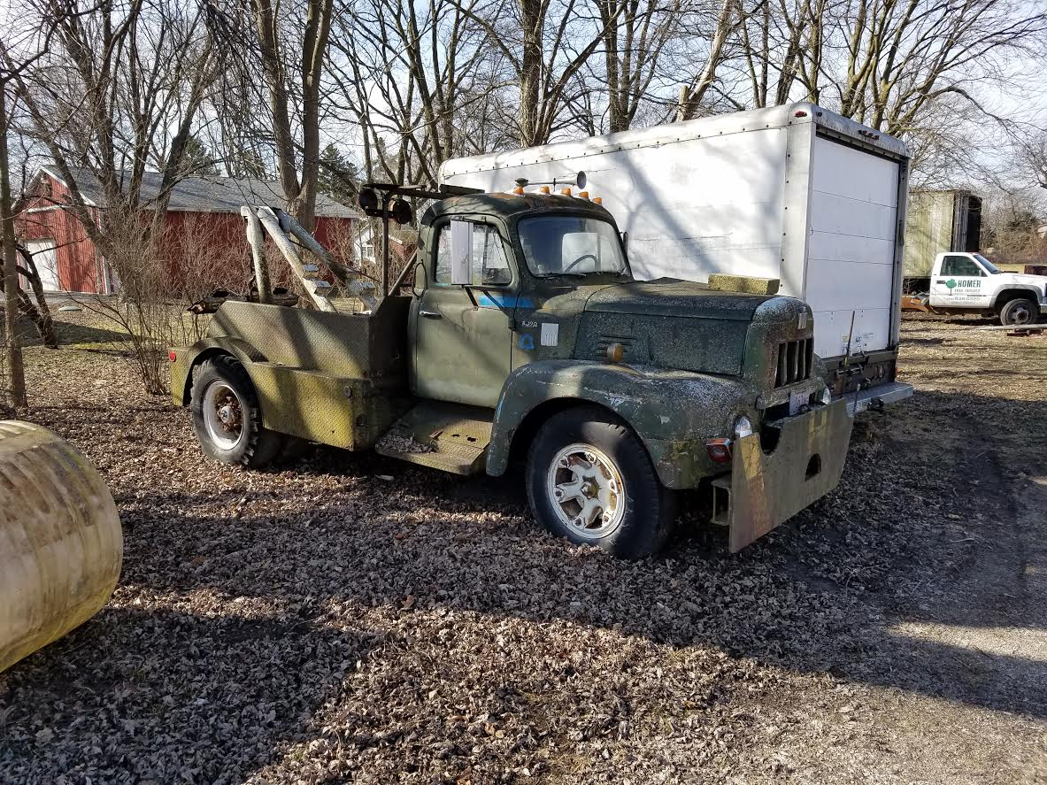 Roadside Find: An Awesome International Harvester Wrecker With History