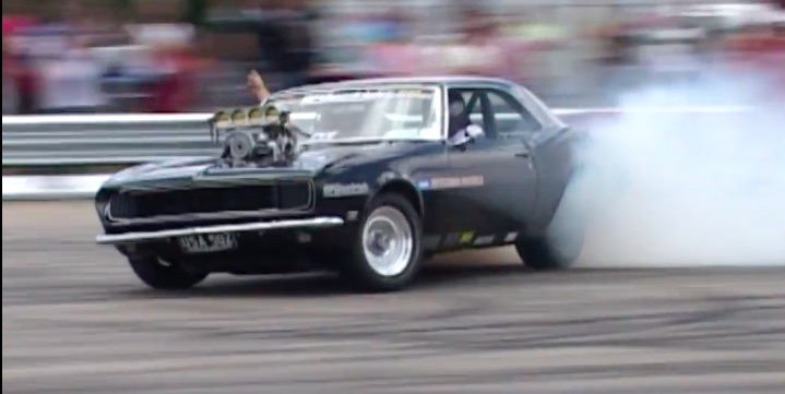 Classic YouTube: The Drifting Camaro, In All Of It's Glory
