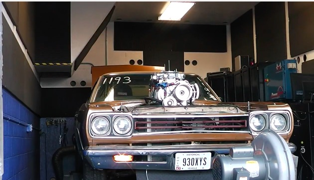 Awesome Chassis Dyno Video: Watch This 8-71 Blown 440 Big Block Powered Chrysler Roar!