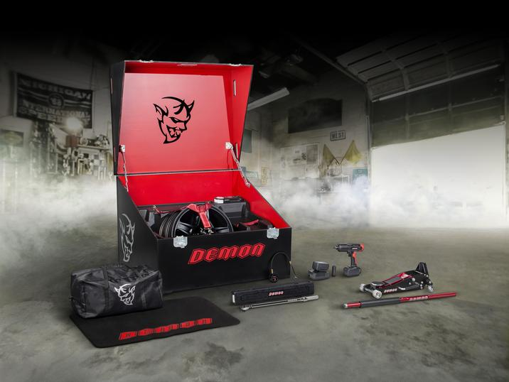 Dodge Reveals What's In The Challenger Demon Tool Box – Cool Snap-On Stuff!