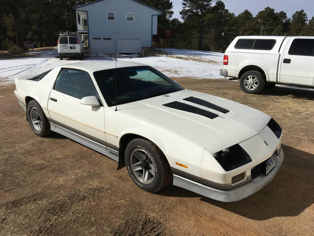 Rough Start: This 1987 Chevrolet Camaro Z28 Is A Cream Puff!