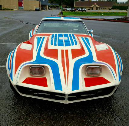 Awesome Corvette! This 1969 Big Block, 4-speed Street Freak Was Built IN 1976