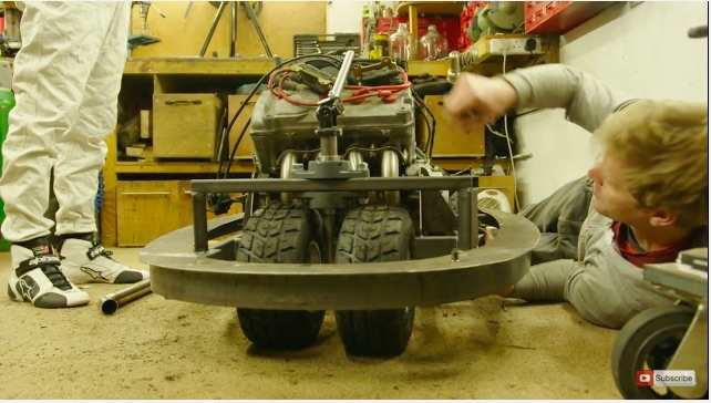 The Maniac Is At It Again: Colin Furze Is Building A Crotch-Rocket Powered Bumper Car!
