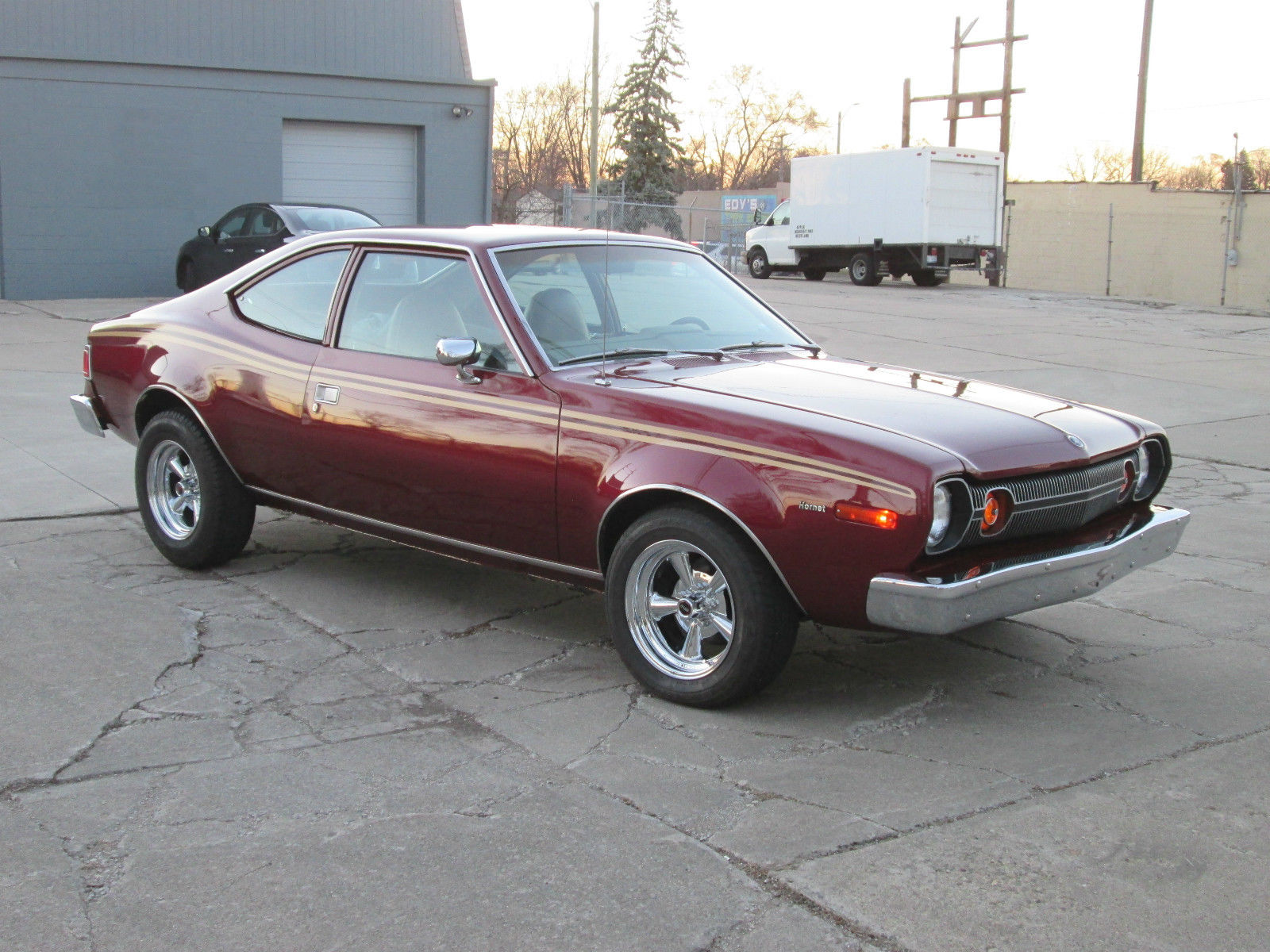 """Not Every AMC Product Was """"Quirky"""". Check Out This 1977 401-Powered Hornet X!"""