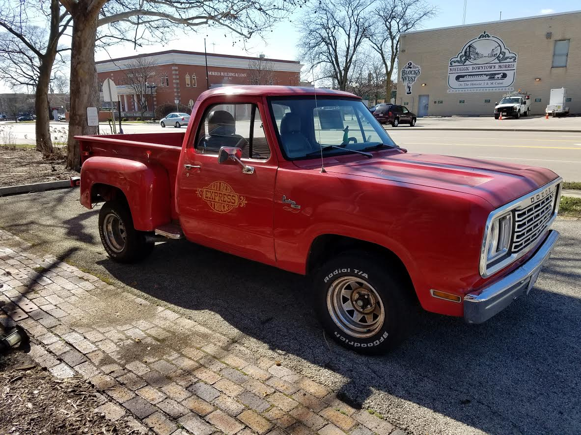 We Found A Rare Lil' Red Dodgeolet Truck, Or Did We? This Thing Is CONFUSED