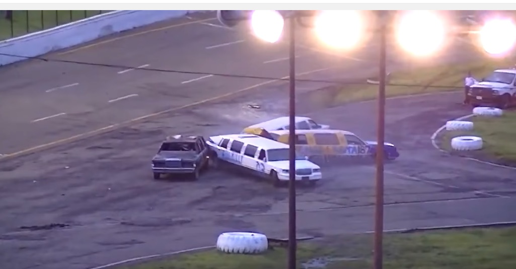 Limo Demo Derby Action Video! Watch Every Chauffeur's Dream Played Out In Real Life!