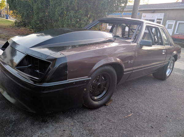 Looking To Build A Fox Mustang Drag Car? This 25.5 Certified Build Is For Sale And The Tough Stuff Is Done