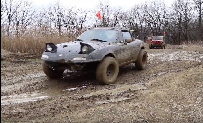Bangshift Com Did You Know That An Early Mazda Miata Can Be A Killer Off Roader We Didn T