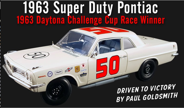 Cool New Die-Cast Alert: The 1963 Pontiac Tempest Super Duty That Killed 'Em All At Daytona Is Here!