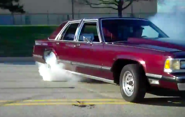 Classic YouTube: The Most Violent Mercury Grand Marquis We Know Of – This Thing Is A Monster!