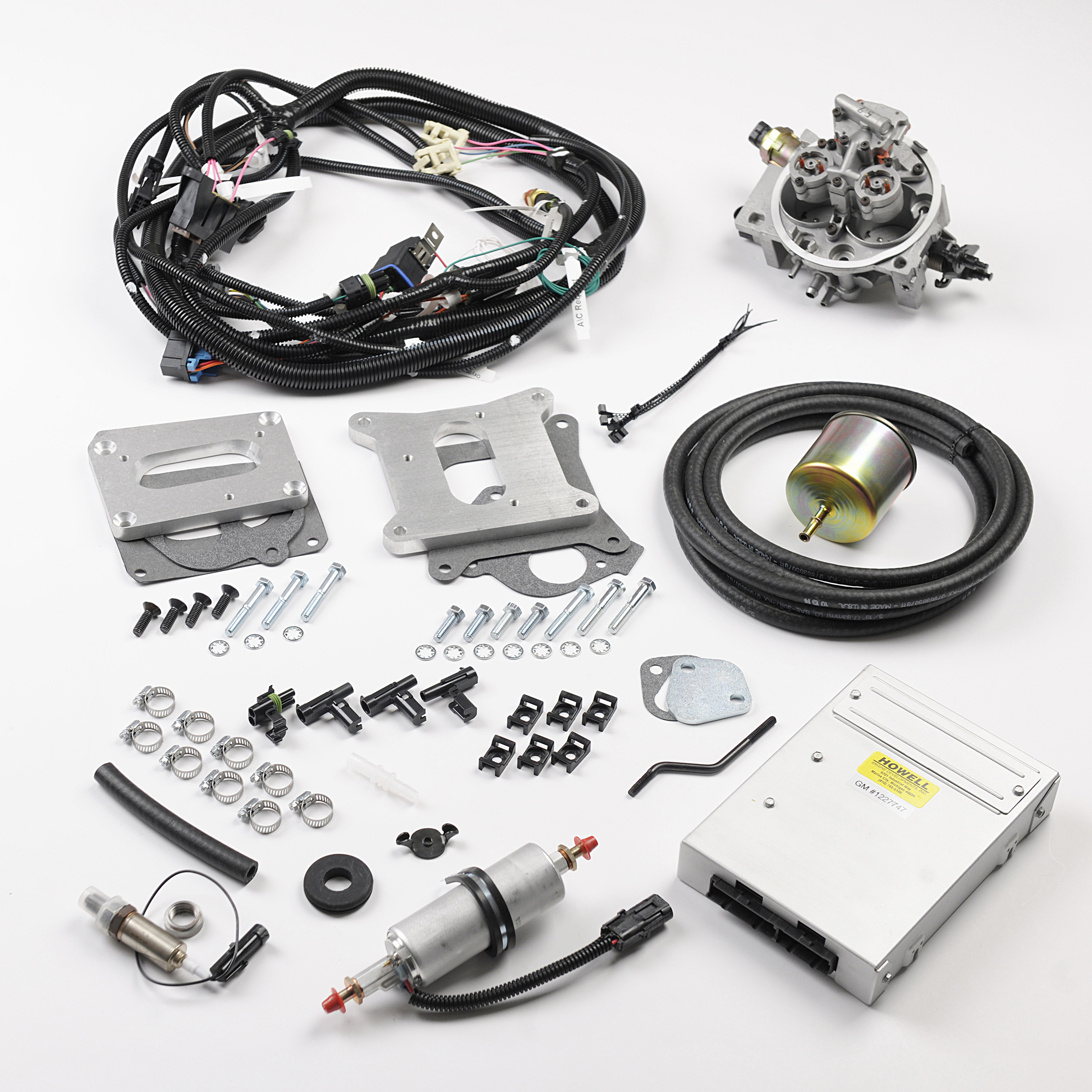 bangshift com howell efi universal tbi kit for transplant pr