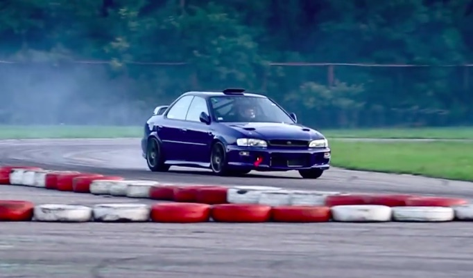 Morning Symphony: The Wail Of A V-10 Subaru. Yes, You Read That Correctly.
