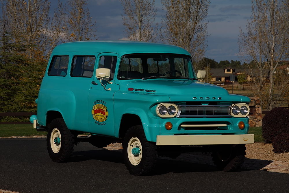 This 1965 Dodge Power Wagon Town Wagon Could Be The Nicest One In Existence