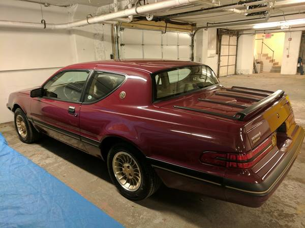 This Anniversary Edition 1987 Mercury Cougar Survived The 80's And Has Only 750 Miles!