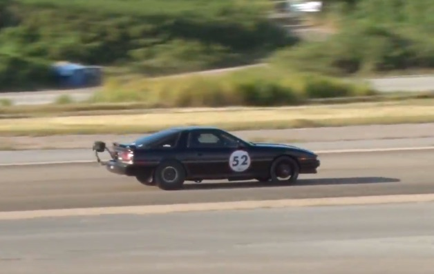 Watch The Owner Of This Toyota Supra Try, Try And Try Again To Hit 200 MPH In Puerto Rico!