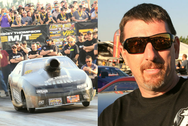 Daddy Dave Is Driving Keith Haney's Enigma During Mid-West Pro Mod Season Opener At Heads-Up Hootenanny!