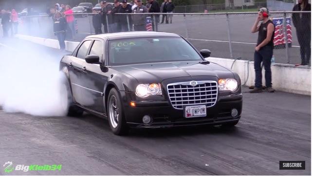 Banker's Strip Sweeper: This Brutal Chrysler SRT-8 Is A Nine-Second Argument Against Physics!