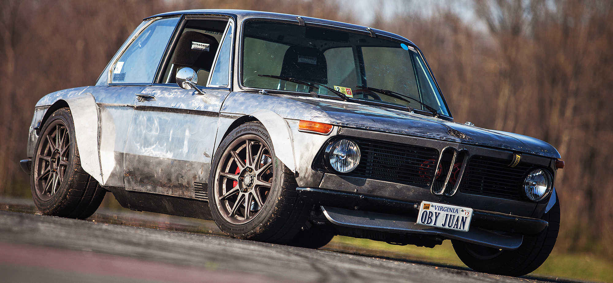 The Beast of Both Worlds: A Guy In His 20's Built A BMW 2002 With The Heart And Bones Of A Honda S2000, And It's Nuts!