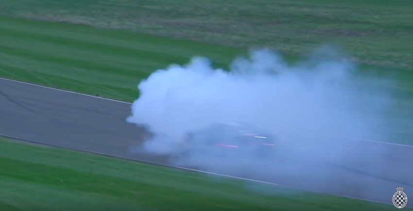Some Kind Of Mess! Watch A Can-Am Car Spin Off Track And Then Cause Wreckage Trying To Get Back On