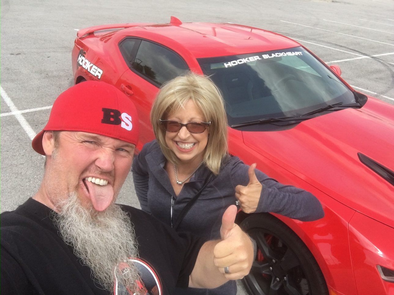 We Stole The Hooker Blackheart 2016 Camaro And Are Driving It To LS Fest Right Now! Join Us!