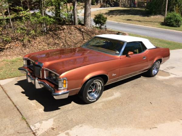 Well Played, Sir: This Craigslist Ad For A 1971 Mercury Cougar Convertible Is Tastefully Funny