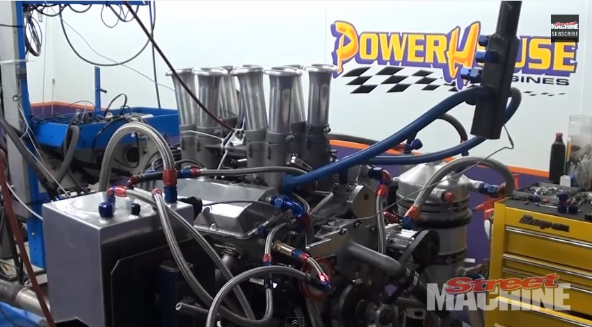 Dyno Video: Watch A Little 253ci Holden V8 Wail Out 515Hp On The Dyno – Stack Injection Rules!