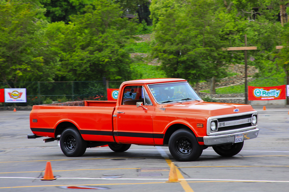 2017 Street Machine and Muscle Car Nationals: Autocross Action At The Show