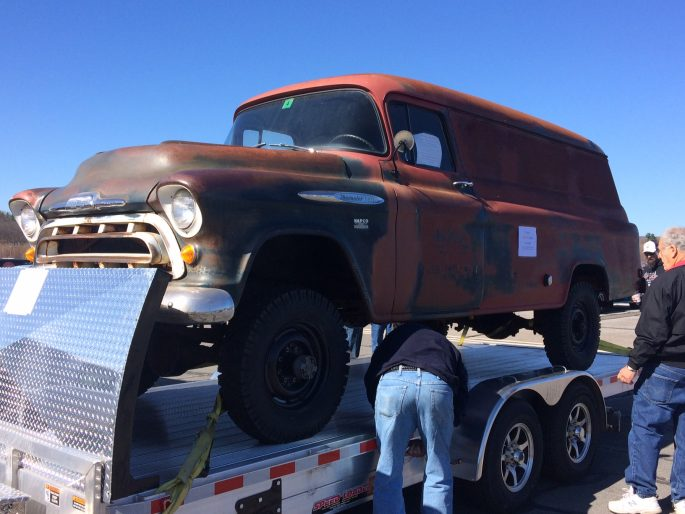 Chevy Napco For Sale >> BangShift.com 1957 NAPCO-Converted Chevy Panel Truck for sale