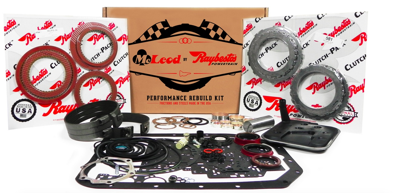 McLeod By Raybestos Performance Automatic Kits Now Available For C4 Automatic Transmissions