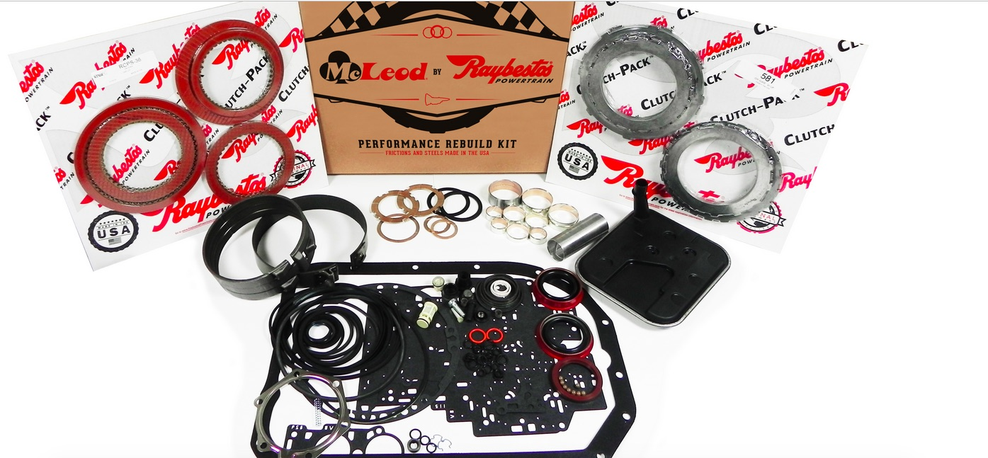 McLeod By Raybestos Introduces Performance Automatic Transmission Rebuild Kits For TH350 and TH400 Automatics