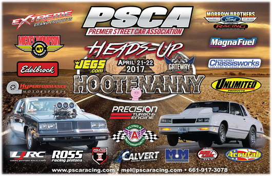 The PSCA Heads-Up Hootenanny Has Been Rescheduled Due To Weather – New Dates June 30- July 2