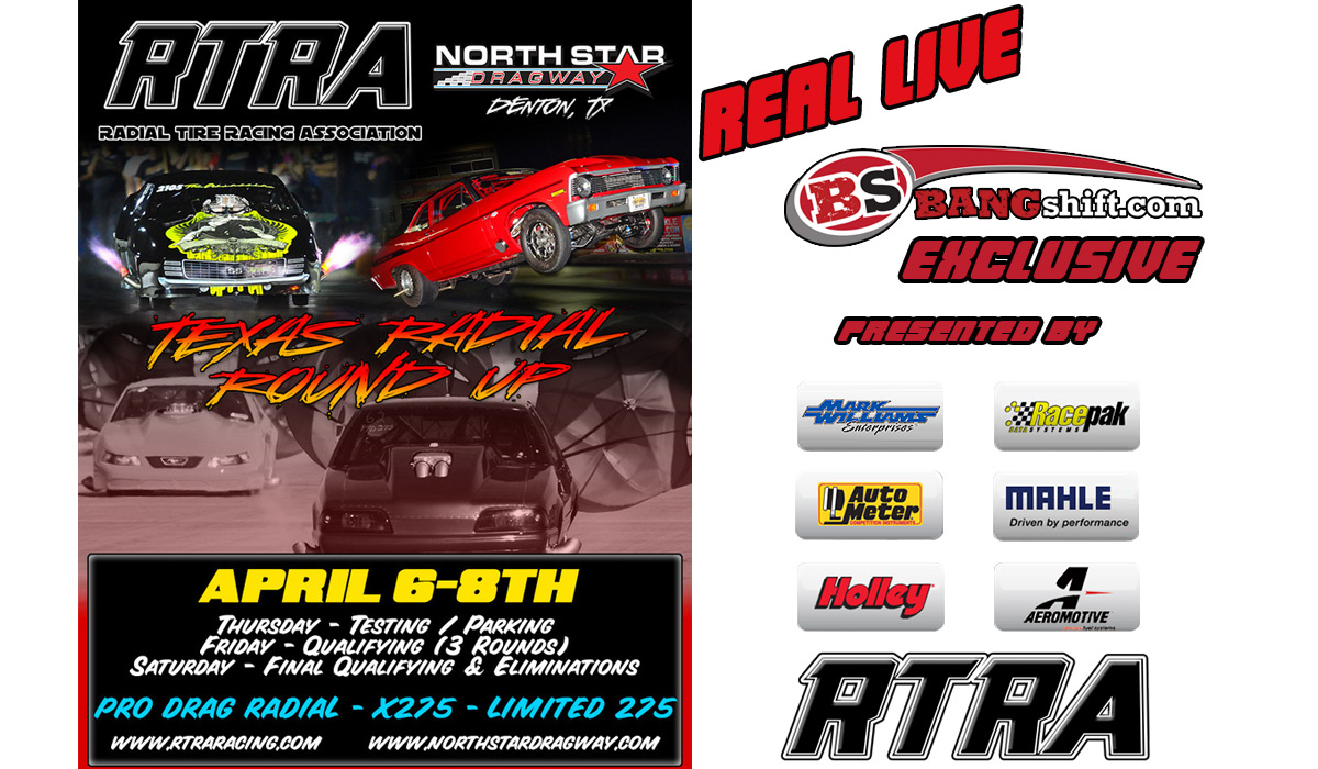 The RTRA Texas Radial Round Up Is LIVE Saturday Right Here!