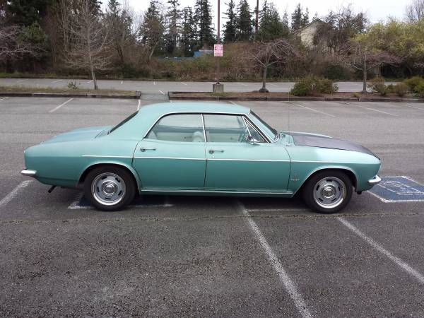 Rough Start: This 1965 Corvair Monza Sedan Is Too Sweet To Pass Up!
