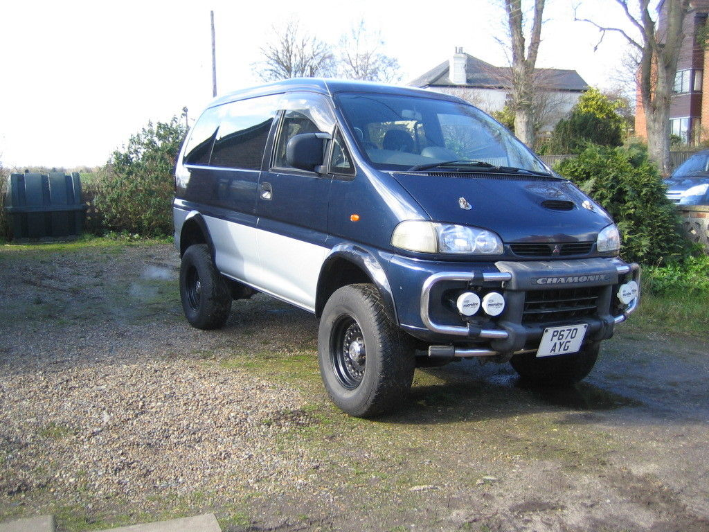 Freak Show: This 1996 Mitsubishi Delica Van Has Been Ford-Swapped And Frame-Swapped!
