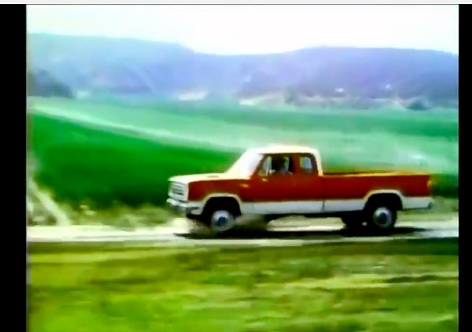 The Man Who'd Rather Drive A Truck Than A Car – This 1975 Dodge Pickup Truck Commercial Is Fun