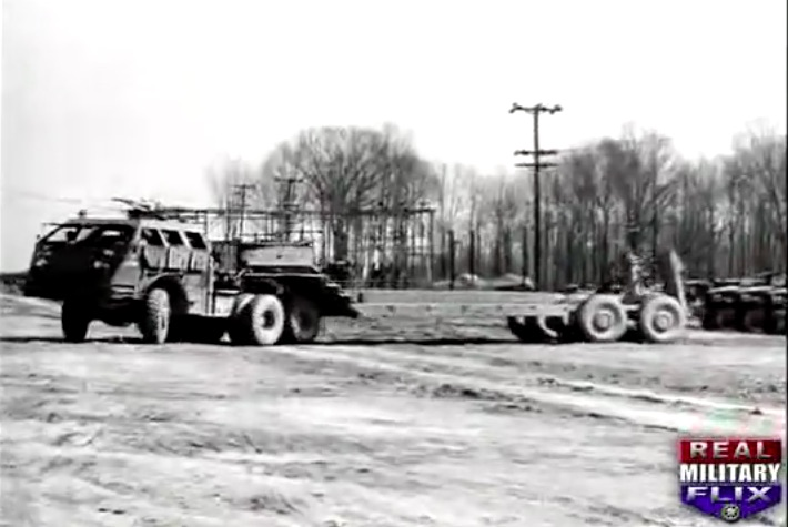 Video: The Massive M25 Dragon Wagon Was A Tank Recovery Truck And Tank Hauler In WWII – A Beast!