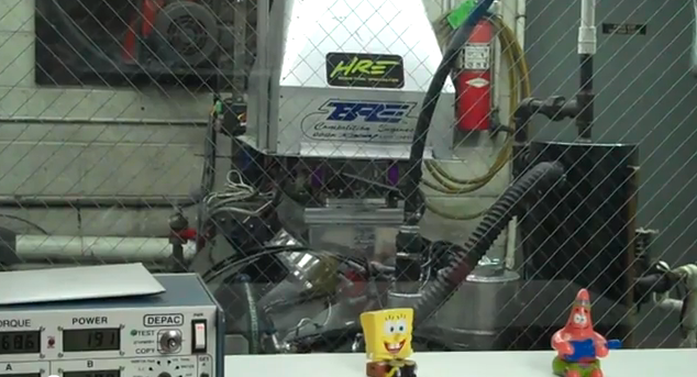 Watch a Drag Race Engine Make a Dyno Pull From 8,000 RPM UP!