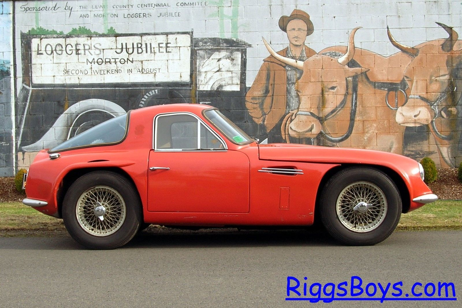 1965 tvr griffith former drag racing car for sale new england d. Black Bedroom Furniture Sets. Home Design Ideas