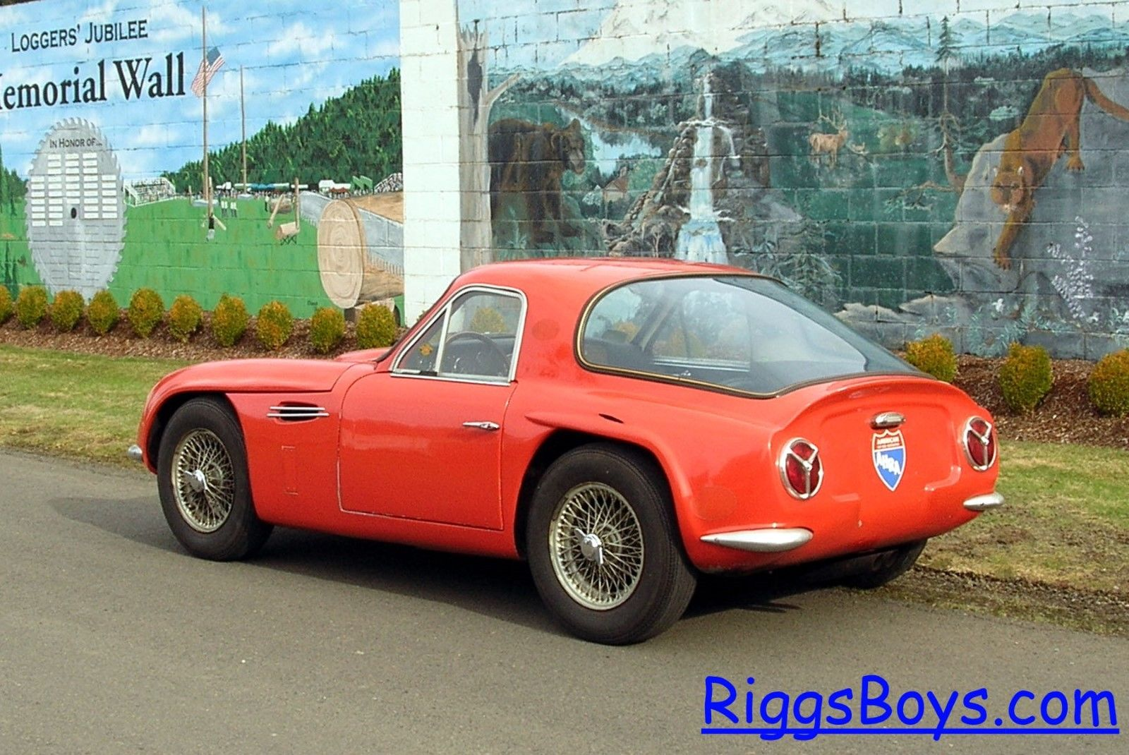 1965 tvr griffith former drag racing car for sale new england d. Black Bedroom Furniture Sets. Home Design Ideas