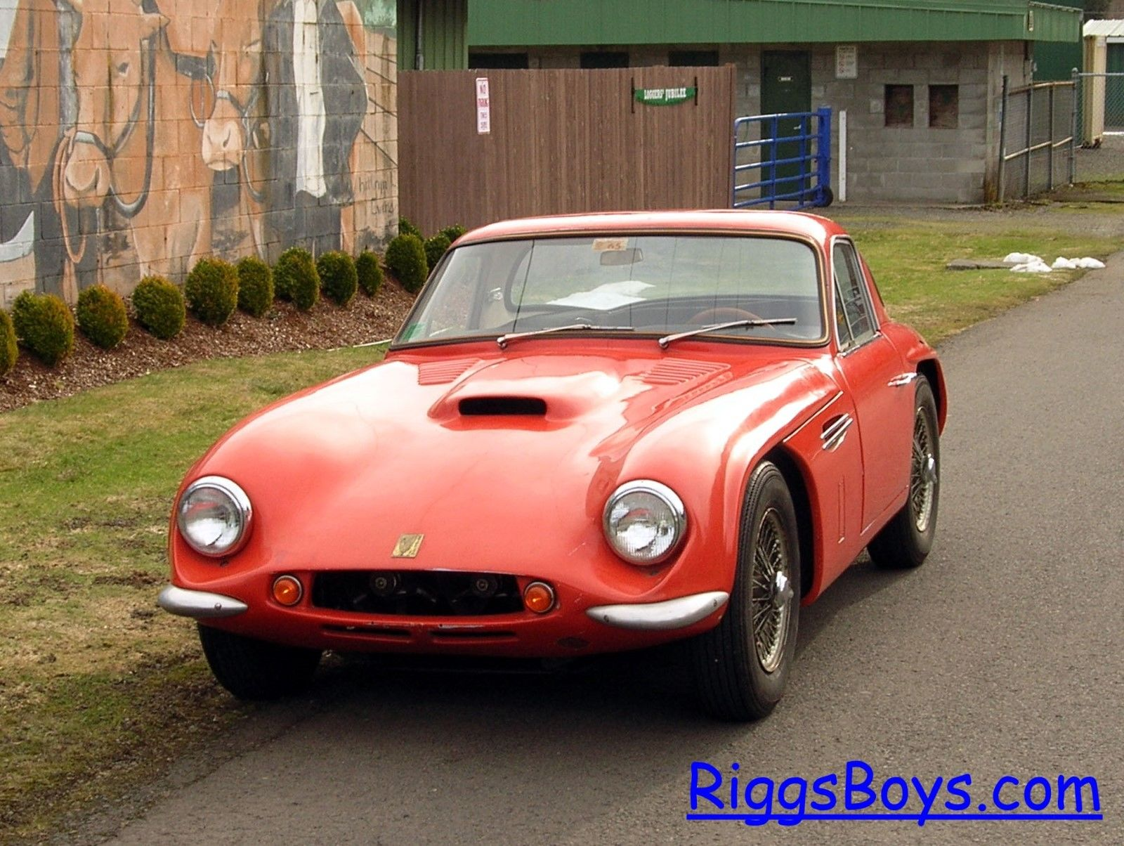 This 1965 TVR Griffith Has Drag Racing History And The Battle Scars To Prove It – Awesome Car