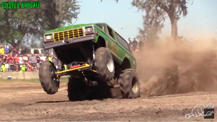 Freestylin': Watch These Mega Trucks Romp and Stomp And Then Consider Our Comparison To Drag Racing